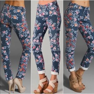 CITIZENS OF HUMANITY. 'Thompson' floral jeans